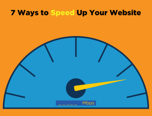 7 Ways To Speed Up Your Website